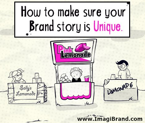 Brand - How to make sure your brand story is unique - ImagiBrand