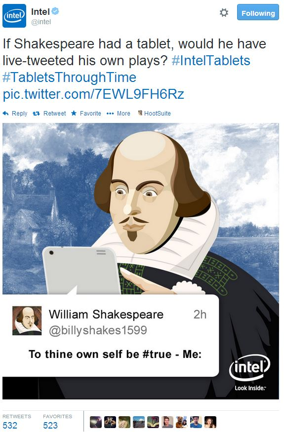 Intel Shakespeare