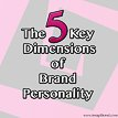 5 key dimensions of brand personality Thumbnail