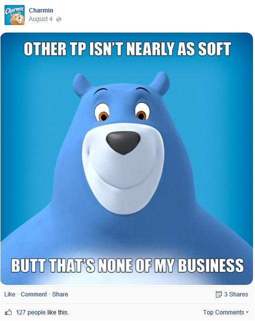 Charmin bear facebook