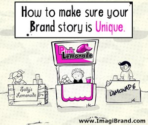 How to make sure your brand story is unique - social media