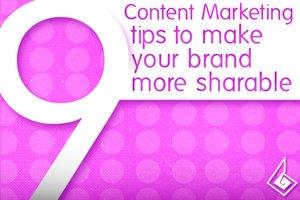 Nine Tips to Make Your Brand More Sharable on social media