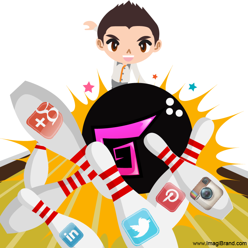 Bowling Strikes with Social Media Engagement 800