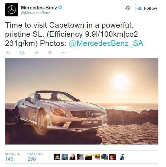 Mercedes Twitter snapshot 2