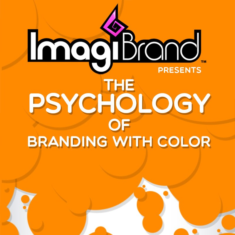 The Psychology of Orange Branding [infographic]