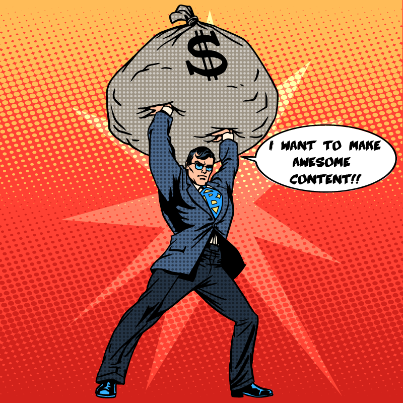 Willingness to spend on content marketing